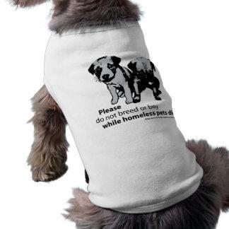 Don't Breed Or Buy Dog Tshirt