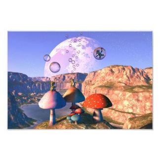 Don't Burst My Bubble! Photographic Print