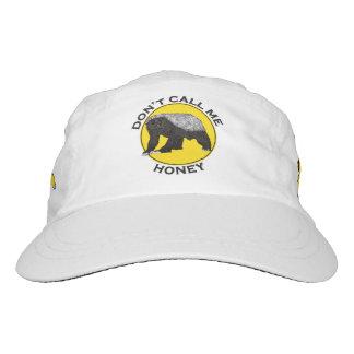Don't Call Me Honey, Honey Badger Feminist Slogan Hat