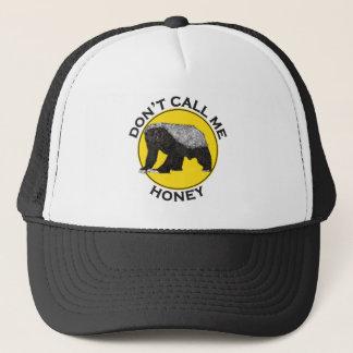 Don't Call Me Honey, Honey Badger Feminist Slogan Trucker Hat
