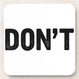 Don't Coaster