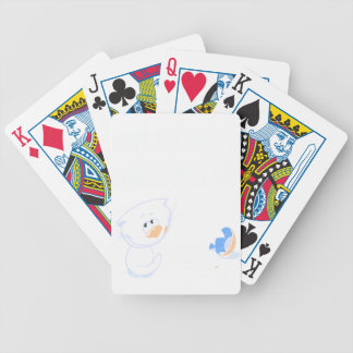 Don't Cry Over Spilled Milk Day - Appreciation Day Bicycle Playing Cards