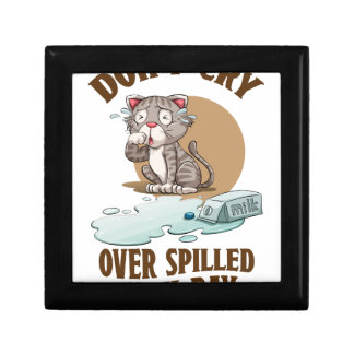Don't Cry Over Spilled Milk Day - Appreciation Day Gift Box
