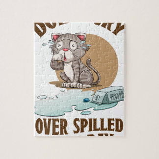 Don't Cry Over Spilled Milk Day - Appreciation Day Jigsaw Puzzle