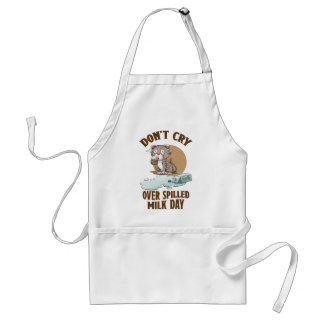 Don't Cry Over Spilled Milk Day - Appreciation Day Standard Apron
