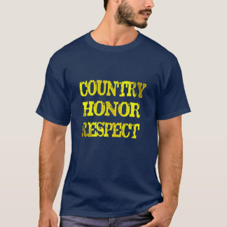 don't disrespect usa flag country honour respect T-Shirt