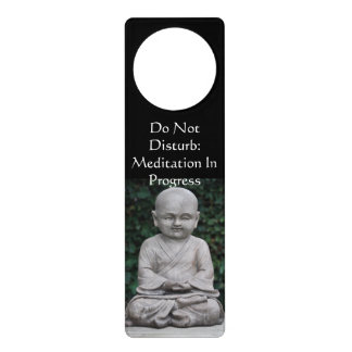 Don't Disturb Meditation Door Knob Hanger