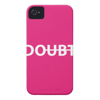 Don't doubt. Do. iPhone 4 Case