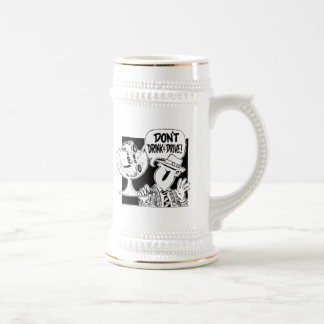 Don't Drink And Drive 18 Oz Beer Stein
