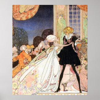 Don't drink! Art Nouveau by Kay Nielsen Poster