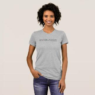 Don't eat Grandma! (Light) T-Shirt