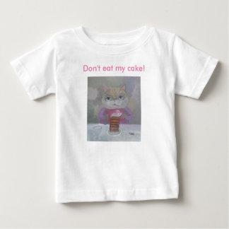 Don't eat my cake! tee shirts