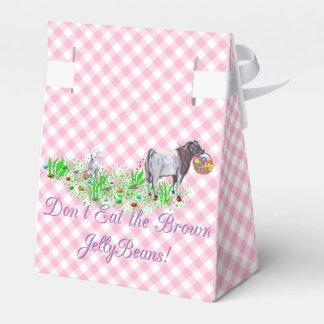 Don't Eat the Brown Jellybeans Boer Goat Favor Box