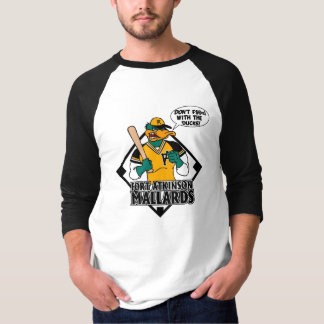 Don't F$@# With The Ducks 3/4 length tshirt