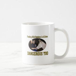 Don't Feed The Wild Donkey Coffee Mug