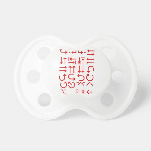 Don't follow others - own your DIRECTIONS Fun GIFT Baby Pacifiers