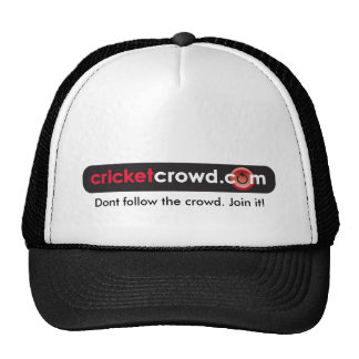 Dont follow the crowd. Join it! Cap Trucker Hat