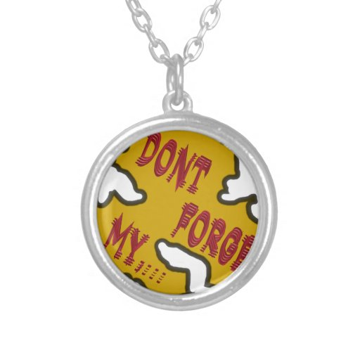 Dont forget my custom jewelry