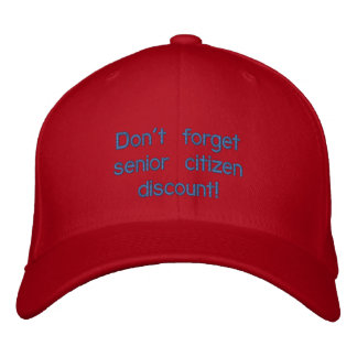 Don't forget senior citizen discount cap
