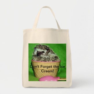 Don't Forget the Ice Cream! Tote Bag
