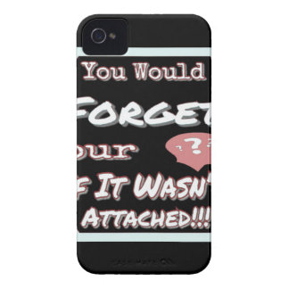 Dont Forget Your Head iPhone 4 Cover