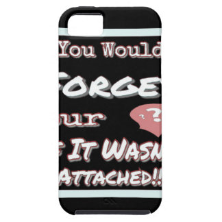 Dont Forget Your Head iPhone 5 Case