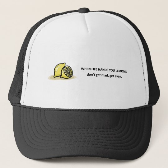 dont-get-mad-get-even trucker hat