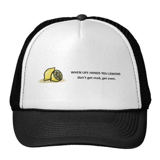 dont-get-mad-get-even trucker hat