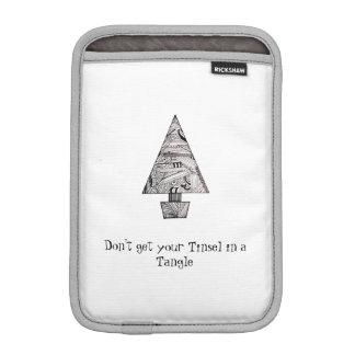Don't get your Tinsel in a Tangle iPad Mini Sleeve