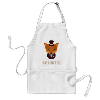 Dont Give A Fox Comic Animal Standard Apron