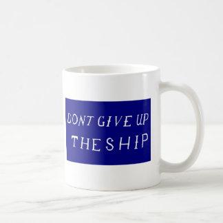 Don't Give Up The Ship Flag Coffee Mug