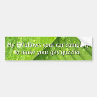 Don't hate EVs Bumper Sticker