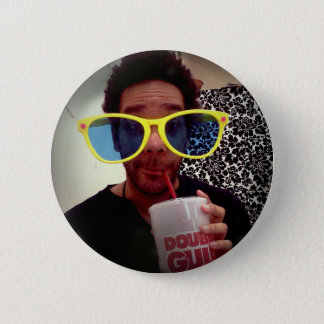 Don't Hate Me Cuz I'm Beautiful 2 Inch Round Button