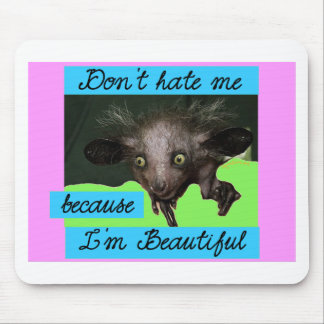 Don't hate me mouse pad