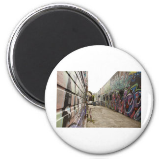 Don't hate on Haight! 2 Inch Round Magnet