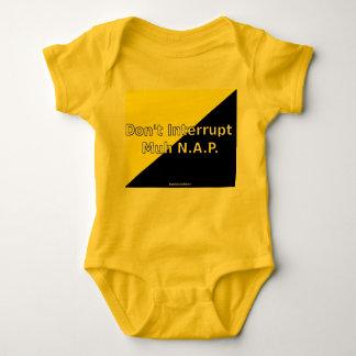 Don't Interrupt Muh N.A.P. Baby Jersey Bodysuit
