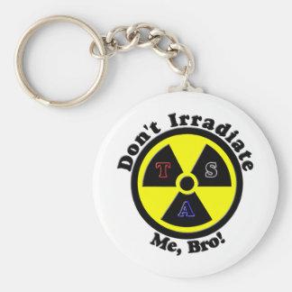 Don't Irradiate Me, Bro! Basic Round Button Keychain