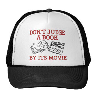 Don't Judge A Book By Its Movie Trucker Hat