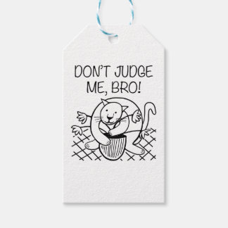Don't Judge Me Bro Gift Tags