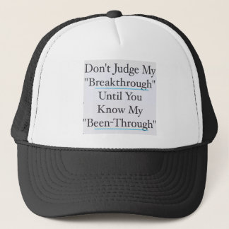 Don't Judge Me Trucker Hat