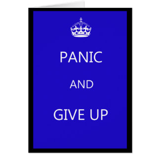 Don't Keep Calm Cards