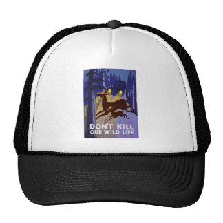 Don't Kill Wildlife Trucker Hat