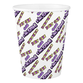 don't know dont care I am poppin Paper Cup