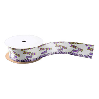 don't know dont care-i am poppin satin ribbon