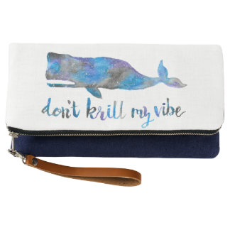Don't Krill my Vibe Clutch