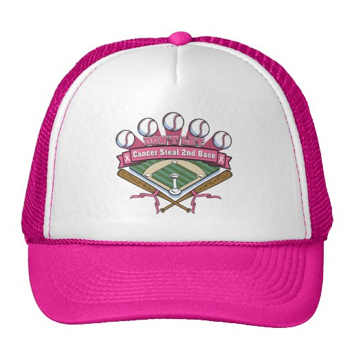 Don't Let Breast Cancer Steal 2nd Base Hats
