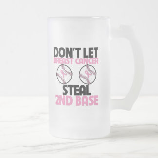 Don't Let Breast Cancer Steal 2nd Base Coffee Mugs