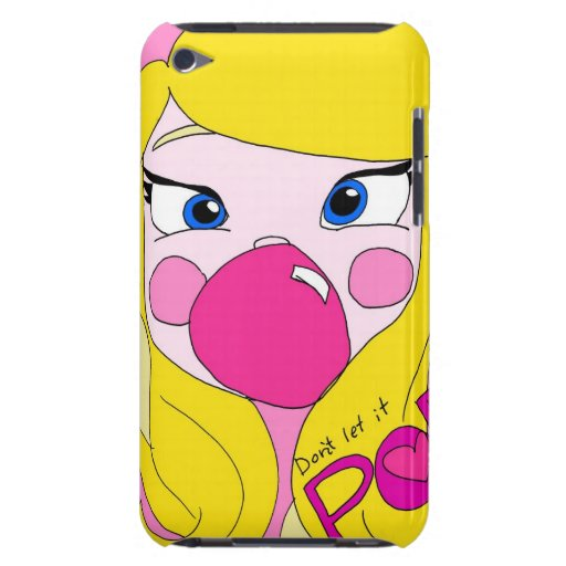 Don't Let it Pop! ipod case Cadouxdle Barely There iPod Cover