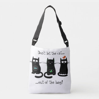 'Don't let the cat out of the bag' Tote