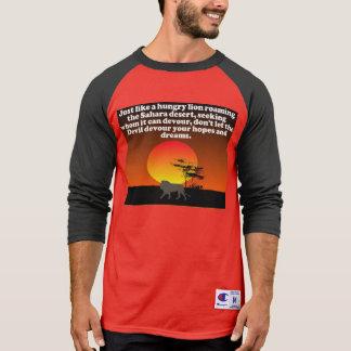Don't let the Devil devour your expectations! T-Shirt